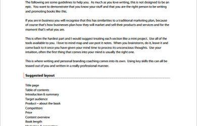 book proposal template notification book proposal pdf format