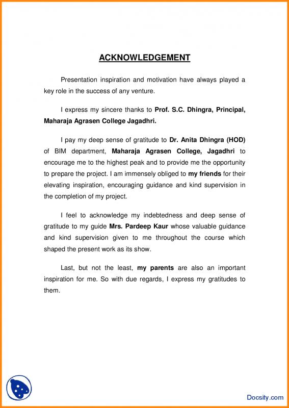 acknowledgement of report essay term paper example  april   acknowledgement sample for a research paper essays acknowledgement sample  for doctoral thesis in information technology donation