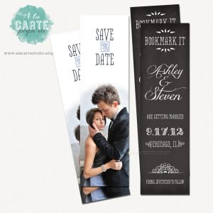 bookmark save the date il fullxfull oko