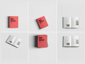 bookmark template free free book mockup psd smart object l