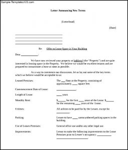 booth rental agreement offer letter template for apartment rental office space pdf
