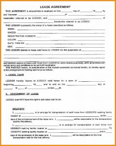 booth rental agreement rental agreement forms printable lease agreement template form