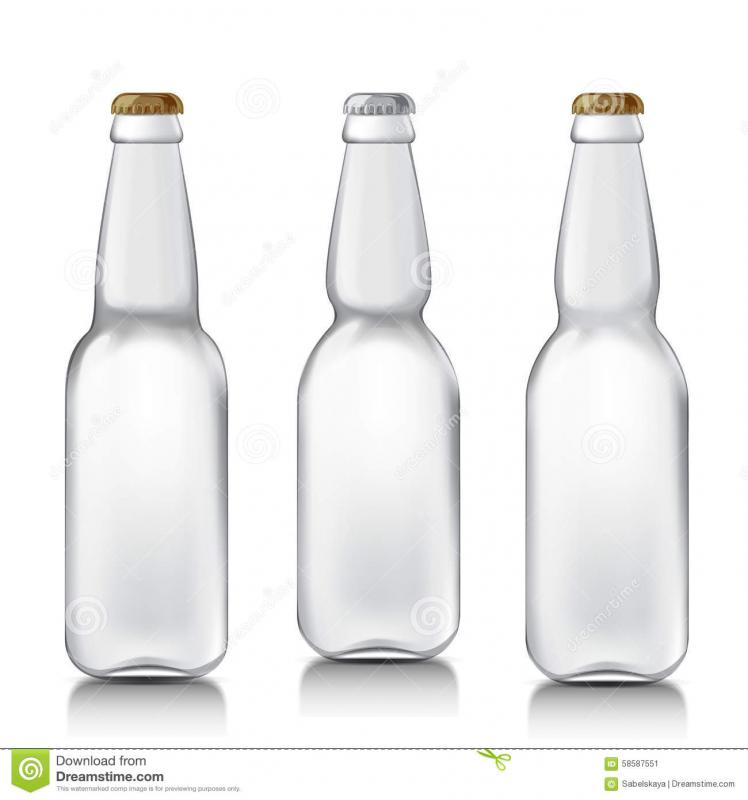 bottles mock up