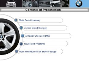 branding strategy template bmw brand audit