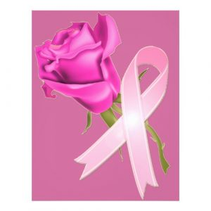 breast cancer awareness flyer pink ribbon with rose breast cancer awareness flyer pzvbd