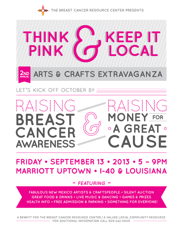 breast cancer flyer