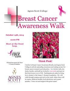 breast cancer flyer breast cancer awareness walk flyer