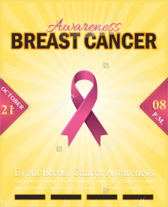 breast cancer flyer breast cancer promotional flyer
