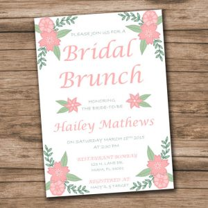 bridal shower invitation templates microsoft word il xn fejy