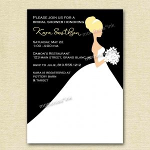 bridal shower invitation templates microsoft word wedding shower invitation template in microsoft word