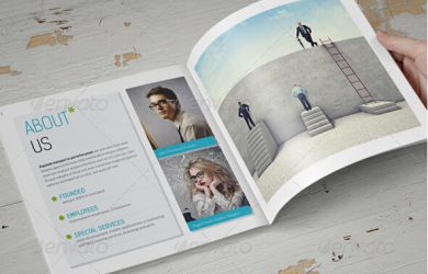 brochure templates indesign booklet design template