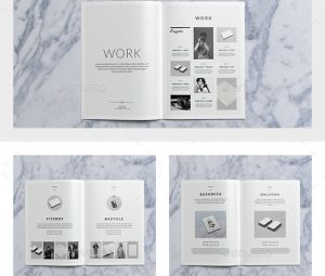 brochure templates indesign bushwick portfolio