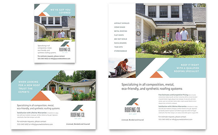 brochure templates indesign