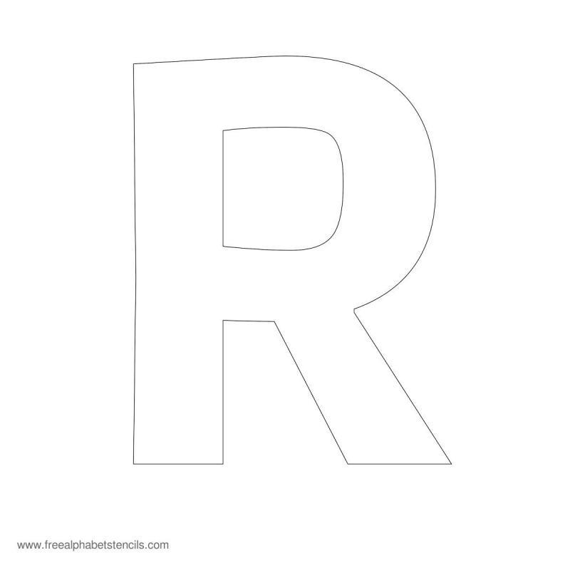 bubble letter stencils