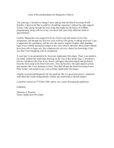 bubble letter template co worker recommendation letter