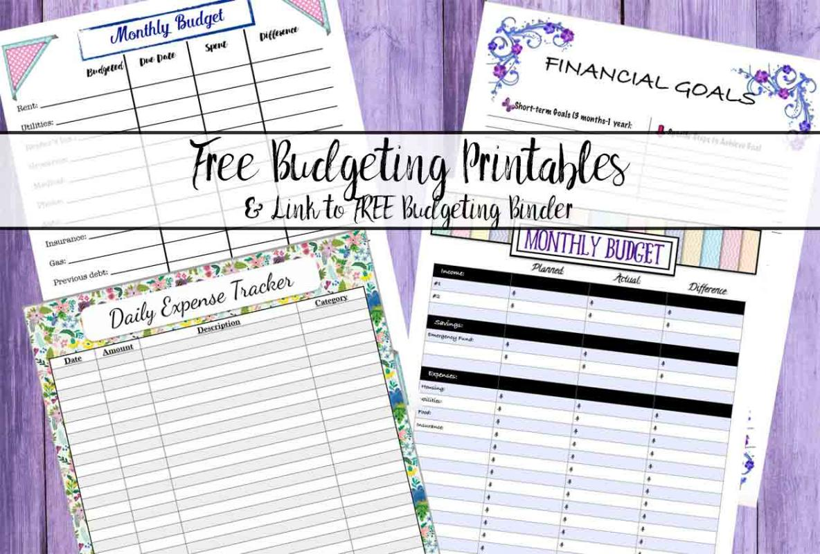 budget planner templates
