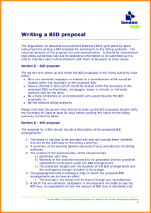 budget proposal sample format of a tender proposal example of a tender proposal