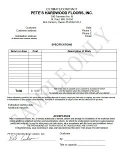 budget proposal template petes samplecontract