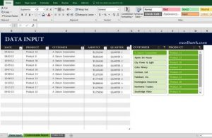 budget template free free monthly yearly excel sales report template