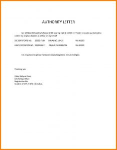 business agreement template authorized letter for collect document authorityletterfordegrees phpapp thumbnail cb