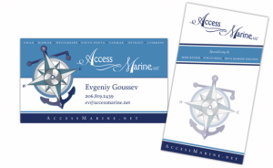 business card services accessmarine sampler