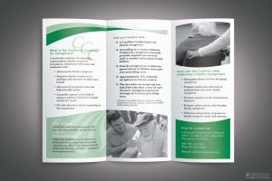 business cards format ccc brochure