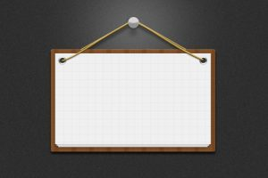 business cards icons message board notice psd