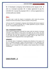 business case study business law case studies with solution