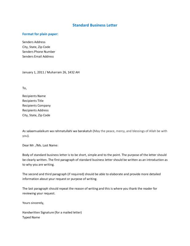 formal business letter closing business closing letter template business 10375