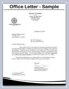 business closing letter office letter