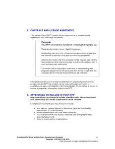 business contract agreement rfp template writing the request for proposal rfp