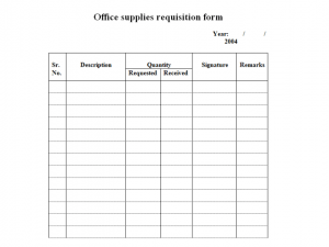 business credit application template requisition form template