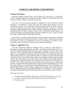 business description example business plan sample edit for reddit
