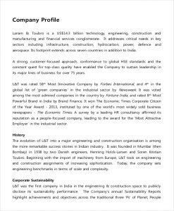 business description example it company description example