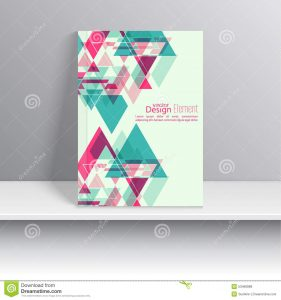 business envelope design magazine cover triangles creative abstract triangle pattern polygonal mosaic background book leaflet cd design