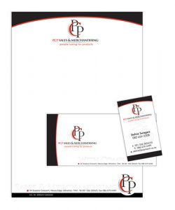 business envelope design pcp