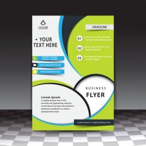 business flyer templates free modern stylish business flyer template
