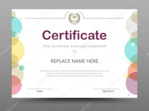 business gift certificate template depositphotos stock illustration elegant certificate template business certificate