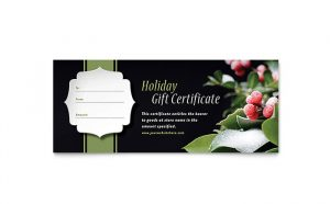 business gift certificate template xx s