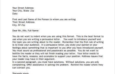 business letter form sample pdf business letters format