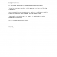 business letter format template letter notice of job opening