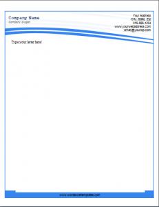 business letterhead format business letterhead