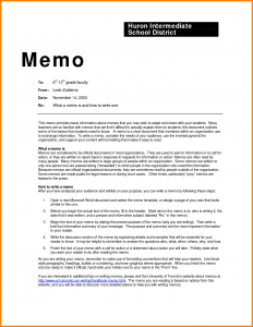 business memo format proper memo format sample business memo examples 262698