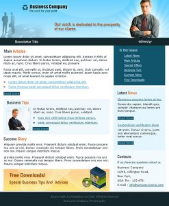 business newsletter templates d business newsletter templates busi