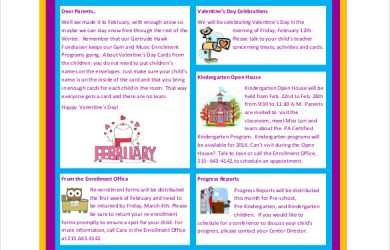 business newsletter templates download preschool newsletter sample