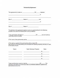 business partnership agreement partnership agreement