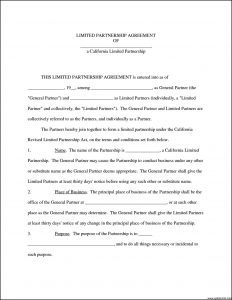 business partnership agreement template restaurant partnership agreement template