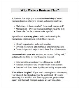 business proposal format business plan proposal pdf template free download