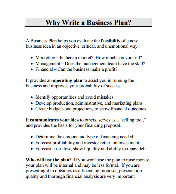 Business Proposal Format  Formal Business Proposal Format