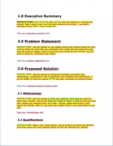 business proposal template business proposal template 10